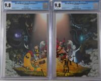 Rick and Morty vs. Dungeons & Dragons 1 NYCC Variant Set CGC 9.8