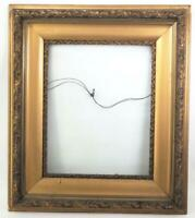 """Antique 27""""x31"""" Painted Gold Wood Ornate Picture Frame for ~ 16""""x20"""""""