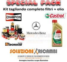 KIT TAGLIANDO FILTRI E OLIO MERCEDES Classe E (W211) E 280 170KW 231CV 03/05-