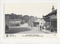 Town End Barnsley 1880s Repro Postcard 903a