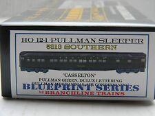 "HO Scale - Branchline Blueprint - 5313 Southern ""Casselton"" Pullman Sleeper Kit!"