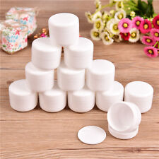12Pcs Empty Jar Pot Cosmetic  Sample Cream Lotion Makeup Container Inner Lid 50g