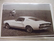 1967 FORD MUSTANG FASTBACK  11 X 17  PHOTO  PICTURE