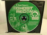 Tom Clancy's Ghost Recon (PC CD-Rom Game, Windows 2001 DISC ONLY