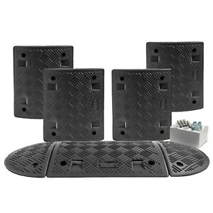 3 M All Black Speed Ramp Kit 10 mph 50 mm(Fixings Included)