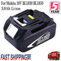 18V 3.0 AH BL1830 Lithium-Ion Battery for MAKITA BL1830B BL1845 BL1815 LXT New