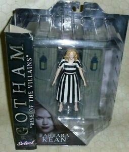 "Gotham Barbara Kean Diamond Select Action Figure NIB ""Rise of the Villains"""