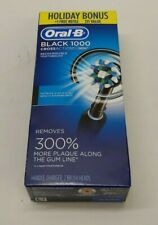 Oral-B 1000 CrossAction Electric Rechargeable Toothbrush - Black