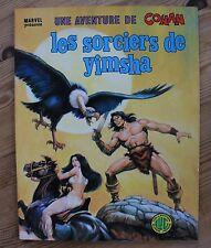 BUSCEMA UNE AVENTURE DE  CONAN N°9 LES SORCIERS DE YIMSHA LUG 1979 SUPERBE