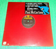 "PHILIPPINES:PAUL MCCARTNEY - NO MORE LONELY NIGHTS 12"" EP/LP,Scarce,RARE,BEATLES"