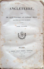 1842 – GALIBERT – PELLÉ, ANGLETERRE – INGHILTERRA REGNO UNITO STORIA NUMISMATICA