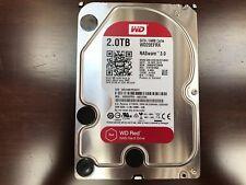 """Utiliza 2 TB WD Red WD 20EFRX en funcionamiento, 3.5"""" NAS HDD, SATA III - 6Gb/s, 64 Mb Cache"""