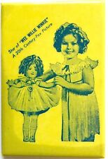 VINTAGE 1937 SHIRLEY TEMPLE STAR OF WEE WILLIE WINKIE POCKET MIRROR HOLDING DOLL