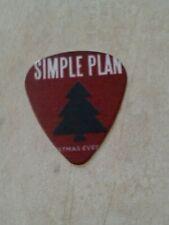 Simple Plan Guitar Pick