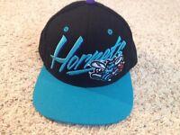 NBA Charlotte Hornets Logo Mitchell & Ness Hardwood Classics HWC Snapback Hat
