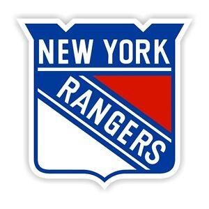 New York Rangers Decal / Sticker Die cut