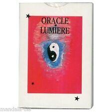 Oracle lumière - Jeu divinatoire 52 cartes & livret (tarot)