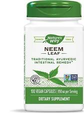 Neem Leaves by Nature's Way, 100 capsules