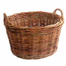 Best Quality Small Oval Rattan Wicker Clothes Storage Laundry Basket