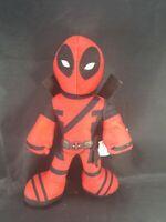 "Marvel Deadpool Plush Stuffed Toy with Swords 9"" Marvel Studios"