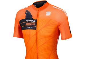 Sportful SDR Dolomiti Race Jersey Orange-Black Men's Medium New with Tags