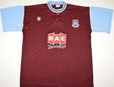 1989-1990 West Ham United Buka Hogar Camiseta de fútbol (tamaño L)