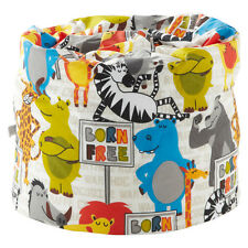 pour enfants Pouf poire Born Free ANIMAUX Filles meuble chambre à coucher siège