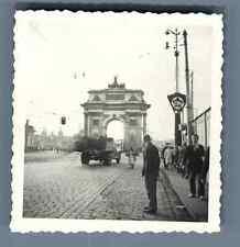 URSS, Moscou, Arc de Triomphe  Vintage silver print. Vintage Russia.  Tirage
