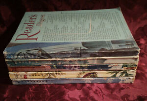 Readers Digest Reading Copy Lot 1956 issues