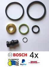 4x Genuine Bosch Injector Seals Kit VW Audi Seat Skoda 1417010997 038198051B