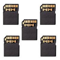 5pcs Kit UHS-II 4.0 Micro-SD SDHC SDXC TF Card to SD SDHC SDXC Card Adapter USA