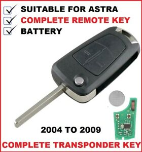2B Remote Car key suitable for Holden Astra H Key 2004 2005 2006 2007 2008 2009