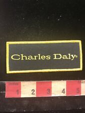 Gun / Firearms Related CHARLES DALY Patch 98O