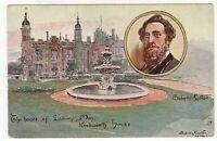 Tucks OILETTE postcard circa 1910 KENBWORTH HOUSE scene (Bulwer Lytton)