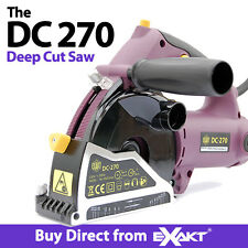 Exakt  Circular Saw - DC270 with Case and 2 Blade Kit Exact