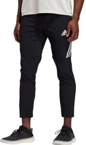 adidas AeroReady 3 Stripe Mens Training Pants - Black
