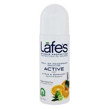 Lafe's - 24-Hour Protection Roll On Deodorant Active Citrus & Bergamot - 2.5 oz.