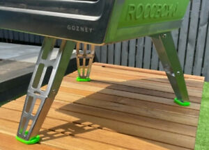 Protective Set Of Rubber Feet For Gozney Roccbox Pizza Oven Green 1 Day Delivery