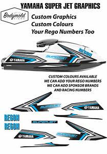 YAMAHA SUPER JET Custom Graphics / Custom Colours Available