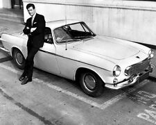 The Saint Roger Moore VOLVO P1800 10x8 Photo