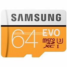 Samsung Micro SDXC 64GB EVO MicroSDXC 100MB/s Read Flash Memory Card New ct