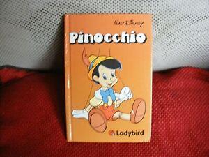 ladybird book ( walt disney-- pinocchio )- first edition-1970-hardback