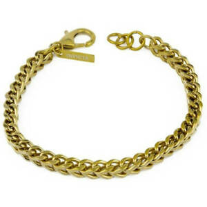 Invicta Men's Bracelet Elements Yellow Gold Stainless Steel Wheat Chain 28880