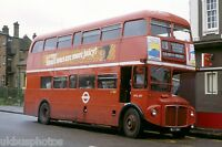 London Transport RM887 Golders Green 1981 Bus Photo