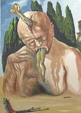 Salvador Dali The Divine Comedy Inferno #27 Woodblock Fine Art Print Make Offer