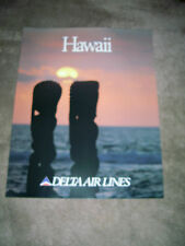 DELTA AIR LINES - HAWAII - POSTER 28 x 22    NEW