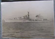 HMS Crossbow 1945 WW2 photograph 10 x 15 inches Royal Navy ship