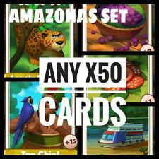 Take Any x50 Cards from Amazonas Set(Fast delivery) :- Coin Master