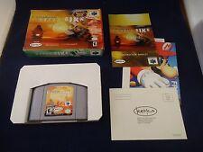 Top Gear Hyper-Bike  (Nintendo 64, 2000) N64 COMPLETE w/ Box manual game WORKS!