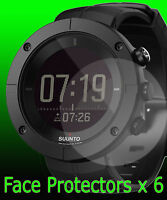 SUUNTO KAILASH watch face protectors x 6 protection copper carbon slate silver